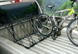 pickup bed bike rack homemade truck mount racks