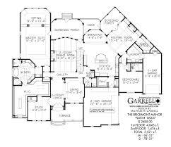 brickmont manor house plan 06237 1st floor plan