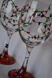 Wine Glass Decorating Designs Best 100 Painted Wine Glasses Ideas On Pinterest Hand Inside Glass 55