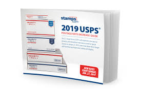 Usps Rate Chart 2019 2019 Usps Postage Rate Increase Guide Free Download
