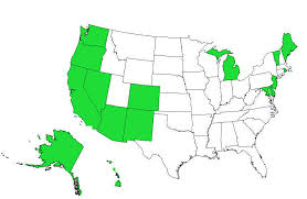 list of states where weed is legal