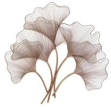 >gold metal wall art beautiful ginkgo leaf wall decor rose gold  gold metal wall art beautiful ginkgo leaf wall decor rose gold contemporary metal wall art by gold metal heart wall decor gold metal wall art beautiful