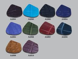 our alligator leather is made from belly flank skin the colors above are for reference only