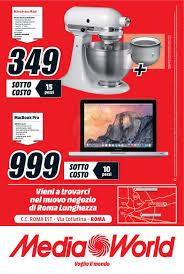 Volantino Media World - Voglio il sottocosto a Roma Lunghezza - giugno 2015  a partire dal 04/06/2015 e fino al 13/06/2015