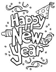 Small Picture Happy New Year Coloring Pages 2017 Happy New Year Pinterest