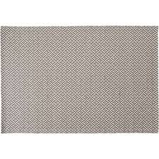 mira flatweave rug grey 120 x 170cm