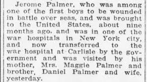 Jerome Palmer - hospital - Newspapers.com