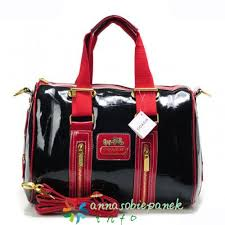 Coach Smooth Medium Luggage Bags Red