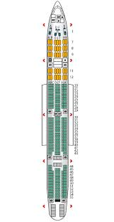 Air India Flight Seating Chart First B777 300er Air India Seat Maps Reviews