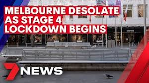 Tier 4 started at 12.01am on sunday morning, the pm said. Coronavirus Melbourne Left Desolate As Stage 4 Lockdown Begins 7news Youtube