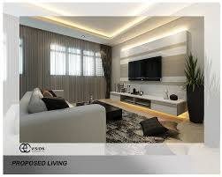 Small Picture tv feature wall Archives Interior Design Singapore