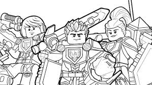 Small Picture Axl With Shield Coloring Page Colouring Page Activities NEXO
