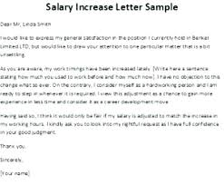 Increment Letter Gorgeous Raise Increase Letter Pay Rate Template Salary To Employee Nz Increa