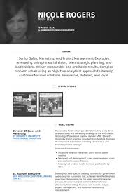 Sales And Marketing Resume Samples - Visualcv Resume Samples Database