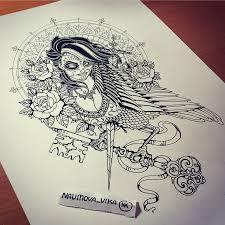 на бедро тату эскизы галерея идей для татуировок фото эскизов