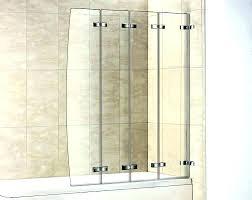 bi fold frameless glass shower doors accordion glass shower door contemporary bi folding doors