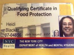 Nyc Food Protection Certificate Expiration Food