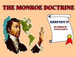 Image result for monroe doctrine symbol