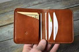 minimalist wallet mens leather wallet