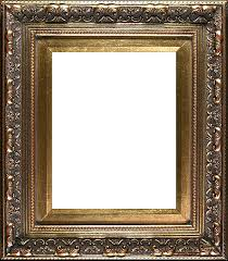 tell a friend baroque antique gold frame