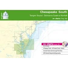 Chesapeake Bay South Chart Reg 5 2 W Pilot Book Cd App