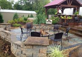 stamped concrete patio with square fire pit. Concrete Patio With Square Fire Pit. Stamped  Designs Pit I
