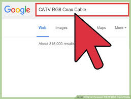 how to connect catv rg6 coax cable 8 steps pictures image titled connect catv rg6 coax cable step 1