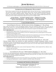 Technical Sales Manager Resume Example Objective Examplesle
