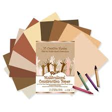 Amazon Com Pacon Multicultural Construction Paper Assorted Colors