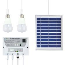 Portable Solar Mobile Lighting System Cellphone Home Emergency Solar Powered Lighting Systems