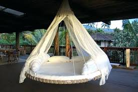 Recycled Trampoline Bedgarden Swing Hammock Bed Chair For Bedroom