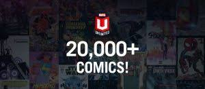 to celebrate its 20 000 ics milestone existing marvel unlimited subscribers will receive two gifts a digital redemption code good for 3 free digital