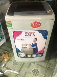 Máy Giặt SANYO 7kg đời mới nguyên zing 100% ngoại hình máy mới mới đẹp 95%  – Điện Máy Minh Thành Phát