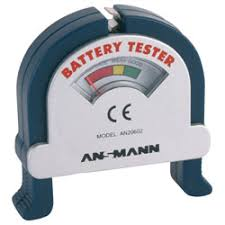 <b>Ansmann 4000001 Battery Tester</b> | Rapid Online
