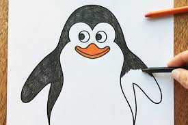 Print out the file on white. Penguin Free Printable Templates Coloring Pages Firstpalette Com