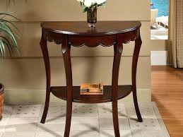 half circle accent table half round accent tables best home design ideas half round accent table half circle accent table