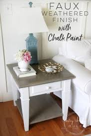 coastal style chalk paint makeover