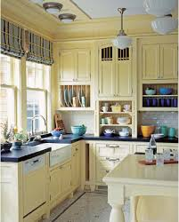country farmhouse kitchen designs. Simple Farmhouse 46_farmhouse_country_kitchen_design_idea_colorful_cabinets COLOR COUNTRY  KITCHENS  To Country Farmhouse Kitchen Designs