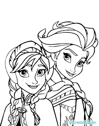 Disney Printable Coloring Pages Frozen Printable Frozen Coloring