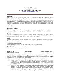 Plsql Developer Resume Marieclaireindia Com