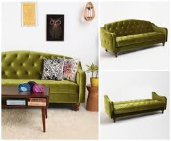 View in gallery Green sleeper sofa