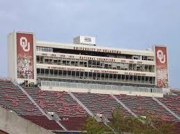 Oklahoma Memorial Stadium Seating Chart Press Boxes Picture Of Oklahoma Memorial Stadium Norman