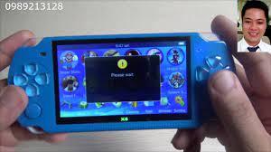 Review máy chơi game cầm tay X6 - YouTube