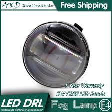 G35 Fog Light Kit Us 115 0 Akd Car Styling Led Fog Lamp For Infiniti G35 Drl 2009 2015 Led Daytime Running Light Fog Light Parking Signal Accessories In Car Light