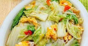 Lalu siramkan saus tiram pada sayur. Resep Simpel Masak Sawi Putih Telur Sehat Untuk Kekebalan Tubuh Saat New Normal