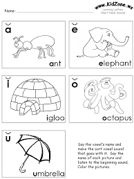 Short Vowels Review Worksheets