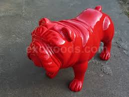 Small Picture Bulldog statue for home decor or yard and garden life size dog