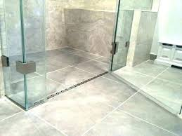 curbless shower pan on concrete slab systems system irrational complete floor kit diy