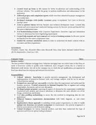 Beautiful Business Analyst Resume Sample Doc Inspirations For