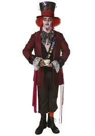 men s authentic mad hatter costume